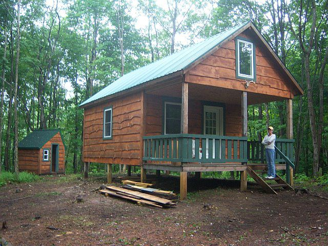 Camp cabin building packages general chit chat for Cabins new york state
