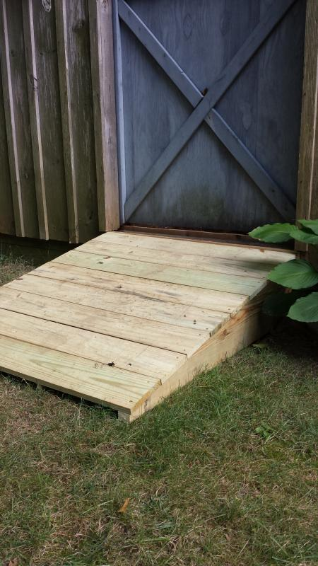 3d Target Stand And Shed Ramp Diy Do It Yourself