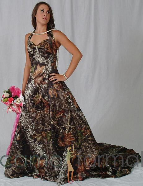 Southern Wedding Dresses With Camo Mossy-oak-camo-wedding-dresses