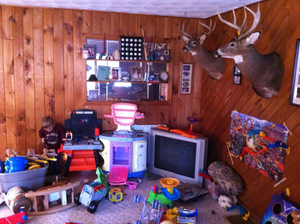 Man Cave Archery : My man cave taking shape general hunting new