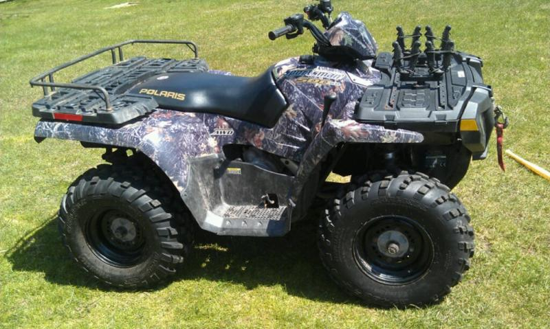 2005 Polaris Sportsman 500 HO Camo - Non Hunting Items For ...