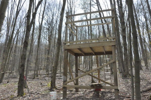 Building My Deer Blind Diy Do It Yourself Tutorials