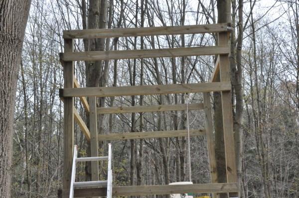 Building My Deer Blind Diy Do It Yourself Tutorials