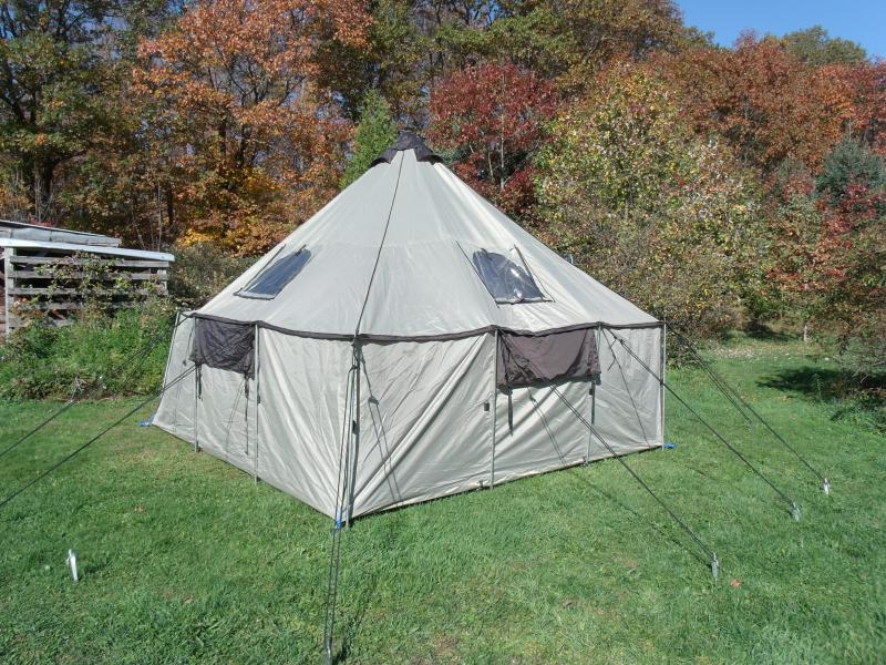 Cabelas alaknak tent with woodstove hunting items for for Cabela s fishing sale