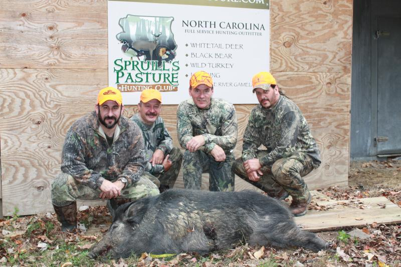North carolina deer and hog hunt guides and outfitters for Nc hunt and fish