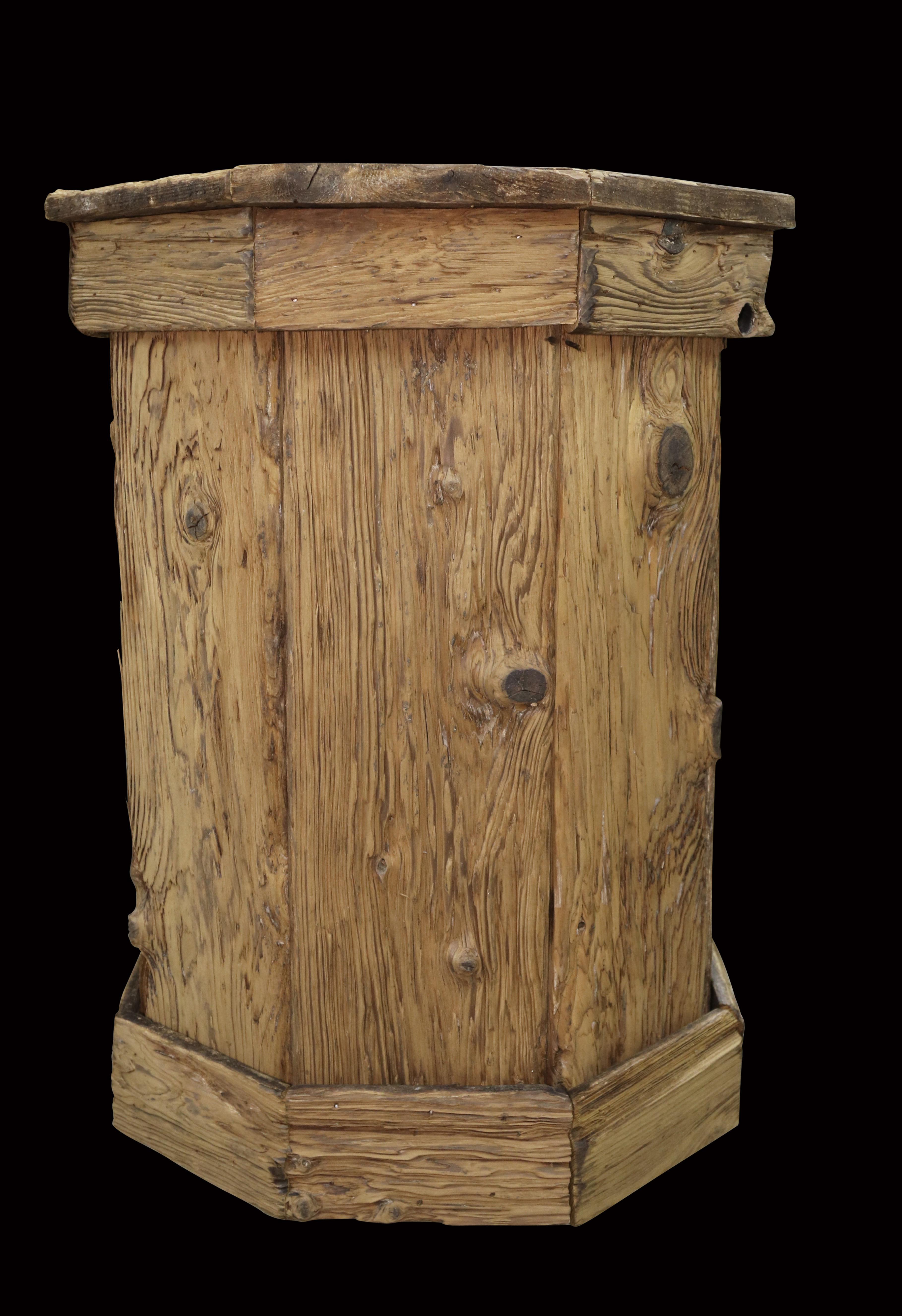 Reclaimed wood pedestals non hunting items for sale and for Reclaimed wood new york