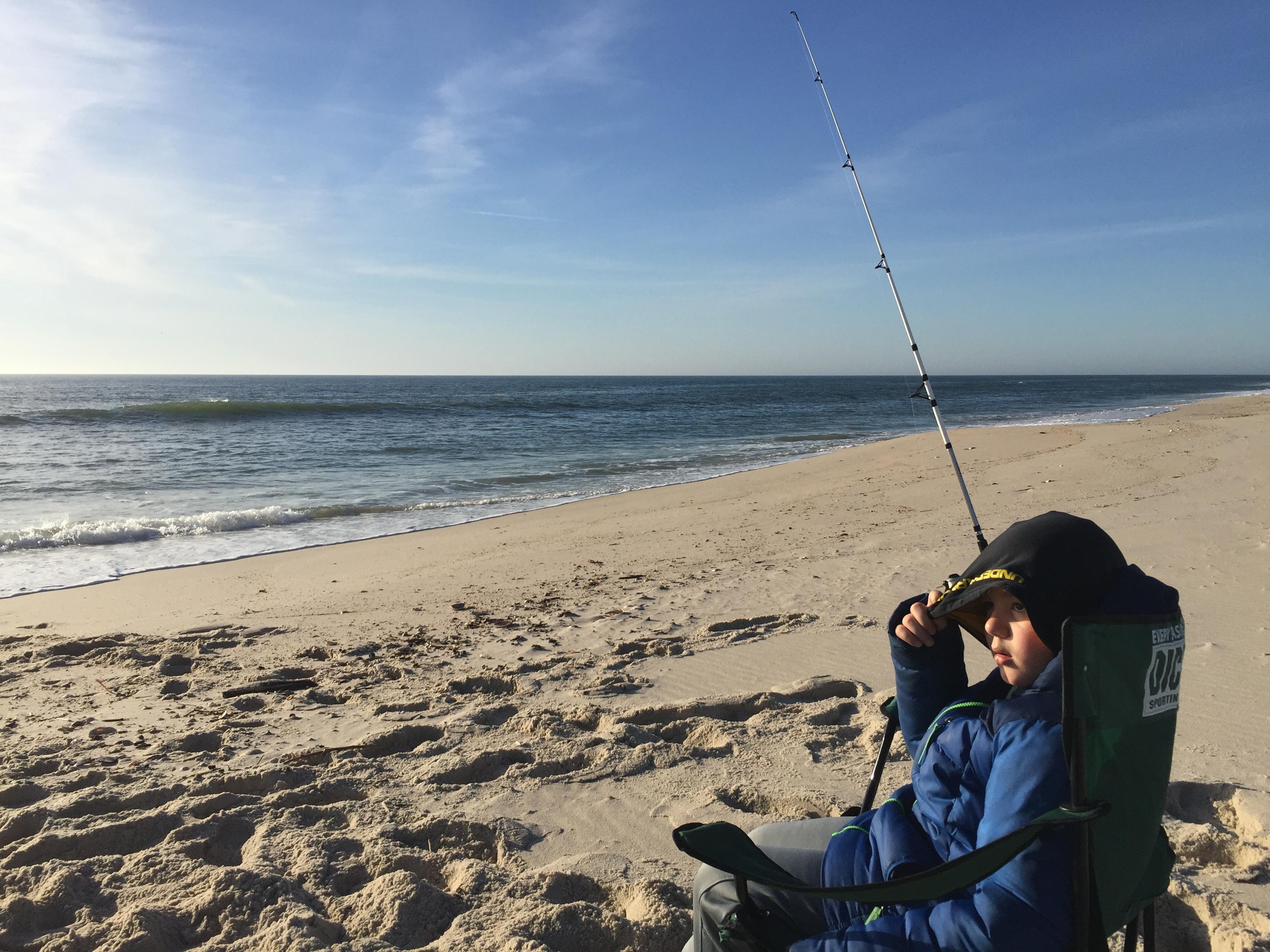 Bear Stripers surf fishing - fishing - hunting new york - ny empire state